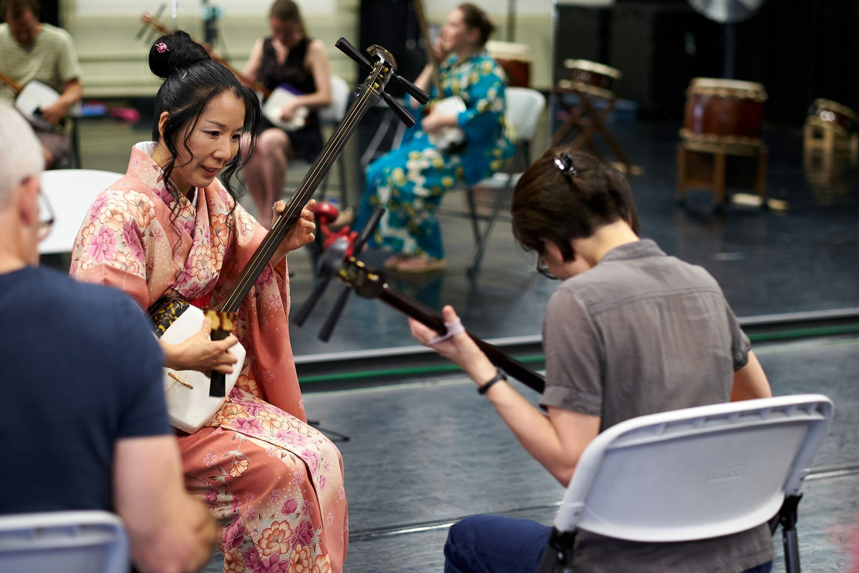 Atelier / concert de Tsugaru Shamisen avec Ryoko Itabashi le 13 juillet 2019